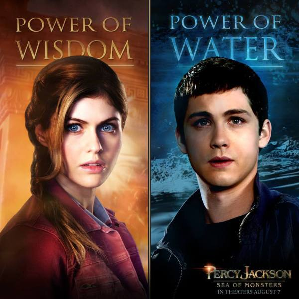 Percy-Jackson-e-o-Mar-de-Monstros-Pôster-do-Filme-com-Annabeth-e-Percy