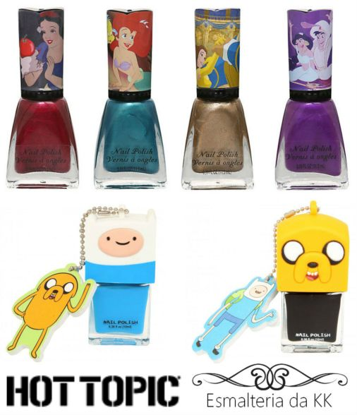 Hot Topic e Esmalteria da KK2