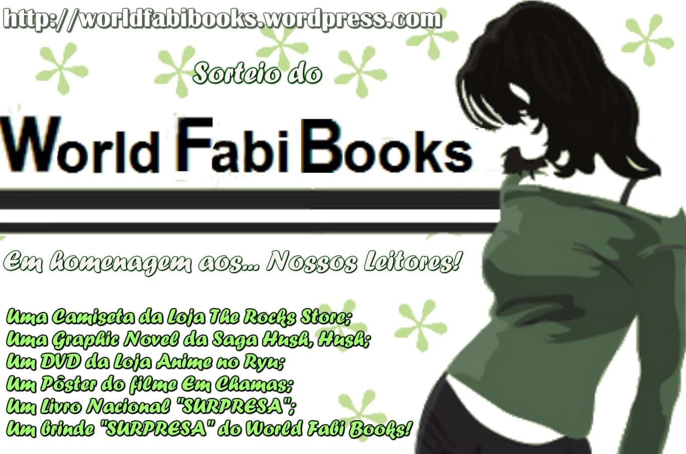 Sorteio do World Fabi Books em homenagem aos… Nossos Leitores!