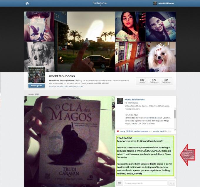 RESULTADO do Sorteio do Instagram! ;)